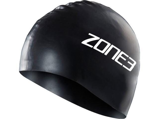 Zone3 Silicone Bonnet de natation, black